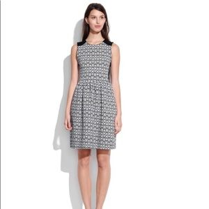 Madewell Diamond Jacquard dress